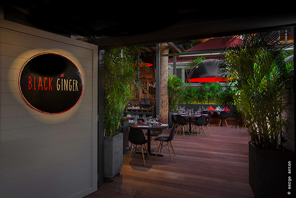 black ginger gustavia restaurant thai sbh